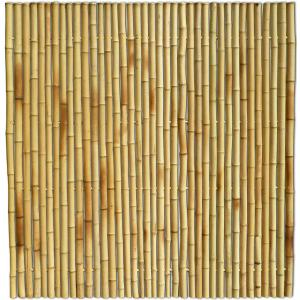 Bamboe schutting naturel 180 x 180 cm x 35-45 mm