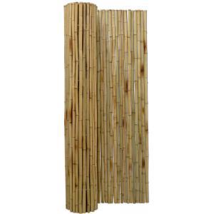 Bamboemat naturel 180 x 180 cm x 25-28 mm
