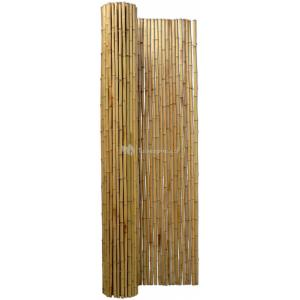 Bamboemat naturel 250 x 250 cm x 25-28 mm