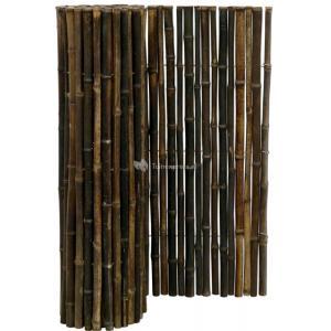 Bamboemat zwart 250 x 100 cm x 18-22 mm