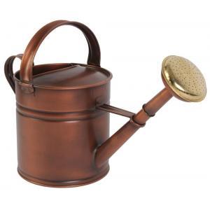 Metalen gieter 5 liter koper