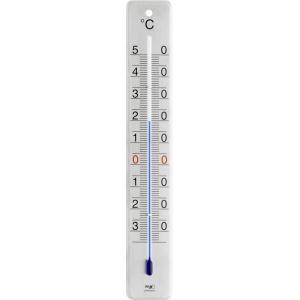 Buitenthermometer geborsteld rvs 28 cm