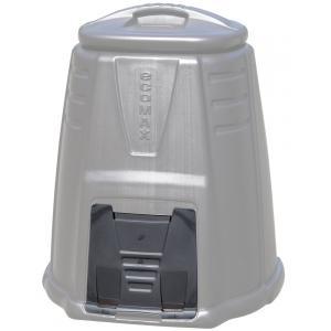 Klep voor Ward compostvat 220 liter zwart