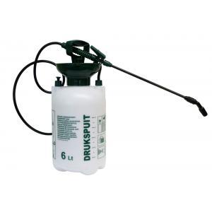 Drukspuit 6 liter transparant