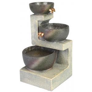 Kamerfontein drie schalen lichtgrijs