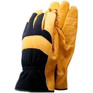 De-luxe soft leather werkhandschoenen - Maat L