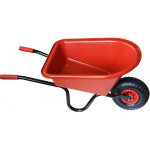 Kinderkruiwagen rood