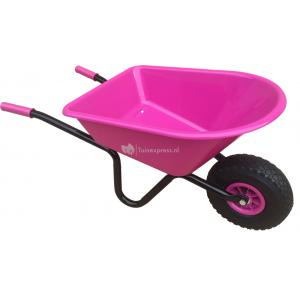 Kinderkruiwagen roze