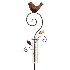 Regenmeter Vogel Modern