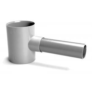 Regenton vulautomaat van PVC - Regenpijp 70 - 80 mm