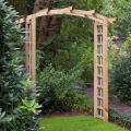 Houten rozenboog toog 215 x 180 cm