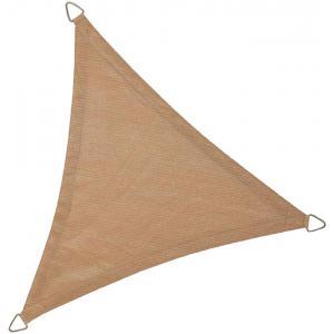 Schaduwdoek driehoek 3.6 meter zand