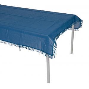 Tafelkleed rechthoekig 140x220cm blauw