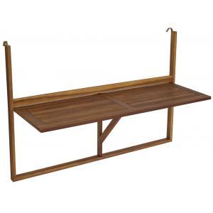 Balkontafel inklapbaar 120 x 44 cm hout