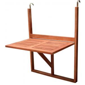 Balkontafel inklapbaar 40 x 60 cm hout