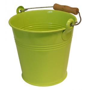 Zinken emmer 4 liter lime