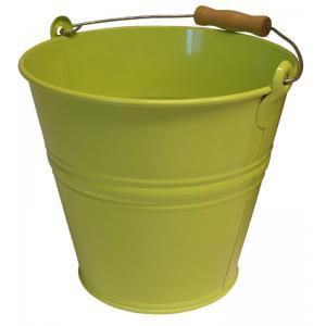 Zinken emmer 8 liter lime