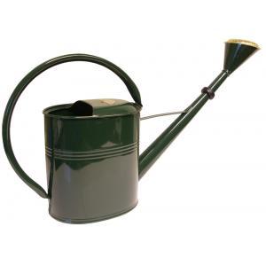 Zinken gieter 8 liter ovaal groen