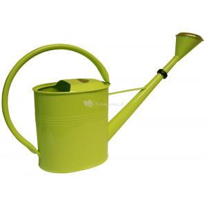 Zinken gieter 8 liter ovaal lime