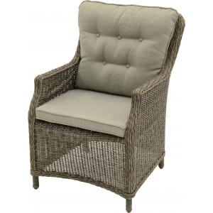 Wicker loungestoelen Soprano set van 2