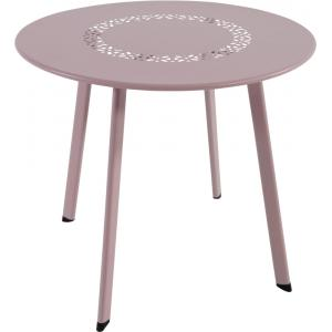 Dali bijzettafeltje roze 50 cm