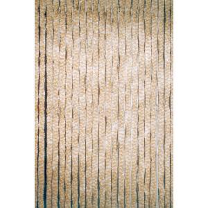 Kattenstaart gordijn beige-wit 90x200cm