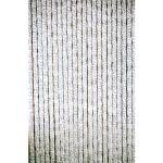 Kattenstaart gordijn grijs-wit 100x230cm