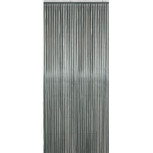 Vliegengordijn PVC grijs stroken 90x220cm