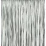 Vliegengordijn PVC spaghetti grijs 90x220cm