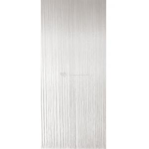 Vliegengordijn PVC spaghetti wit 100x230cm