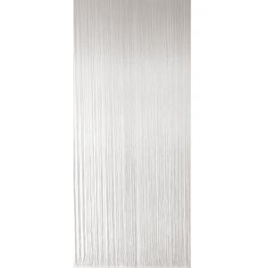 Vliegengordijn PVC spaghetti wit-transparant 90x220cm