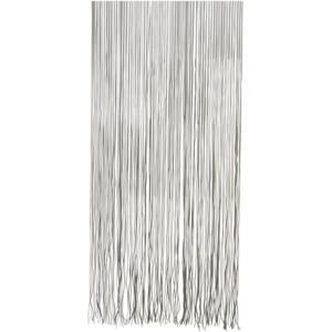 Vliegengordijn PVC Twist zwart 90x220cm