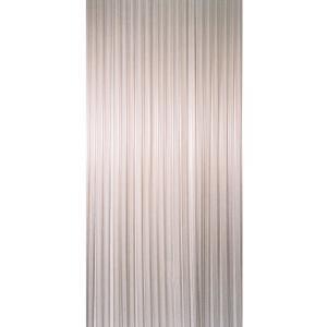 Vliegengordijn PVC wit stroken 90x220cm