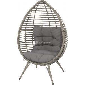 Chill egg stoel grijs