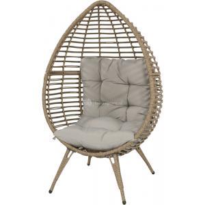 Chill egg stoel naturel