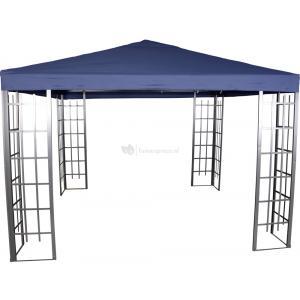Paviljoen Royal met dak 3 x 3 meter - Blauw