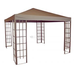 Paviljoen Royal met dak 3 x 3 meter - Taupe