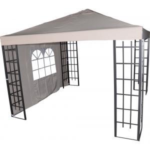 Zijwand met venster voor Paviljoen Royal