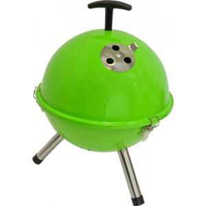 Tafelbarbecue rond groen