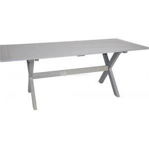 Serre tafel grenen grijs