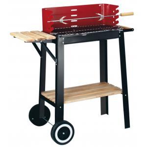 Garden Grill wagenmodel BBQ houtskool