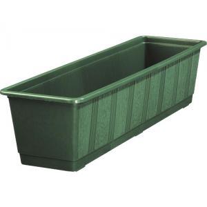 Balkonbak standaard donker groen - Balkonbak donker groen 80 cm