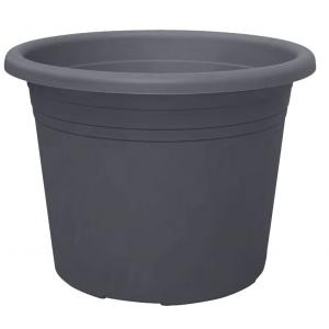 Bloempot Cylindro antraciet - Ø 30 cm – 9,5 liter