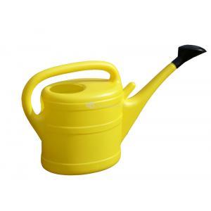 Geli kunststof gieter 10 liter geel