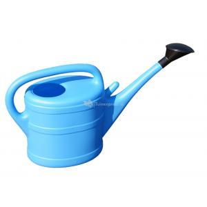 Geli kunststof gieter 10 liter lichtblauw