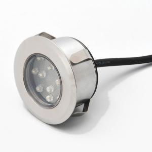 Mini LED grondspot set van 3 RVS