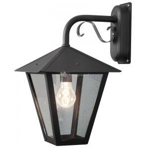 Wandlamp Benu zwart neerwaarts