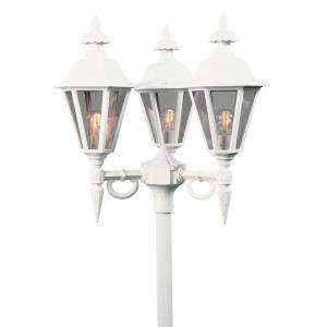 Staand verlichtingsarmatuur Pallas met 3 lampen - Matwit