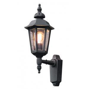 Wandlamp Pallas opwaarts 48cm - Matzwart