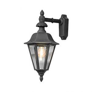 Wandlamp Pallas neerwaarts 53.5cm - Matzwart